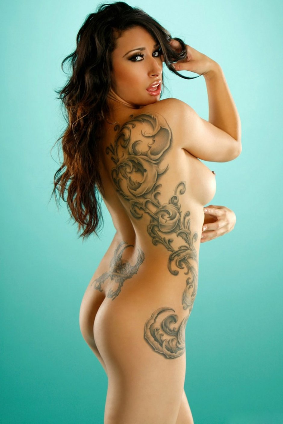 Pin on sexy breast tattoos huge selection