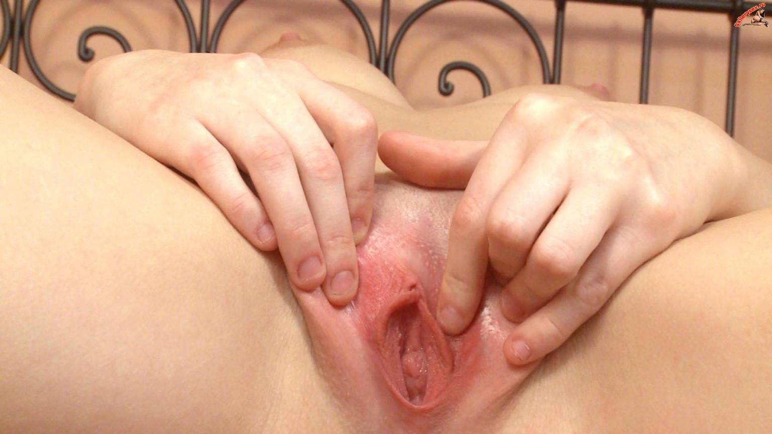 Virgin vagina close up photo
