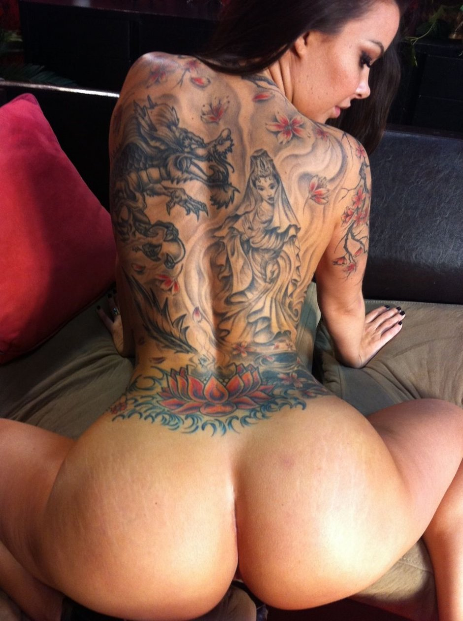 Are tattooed women really more promiscuous