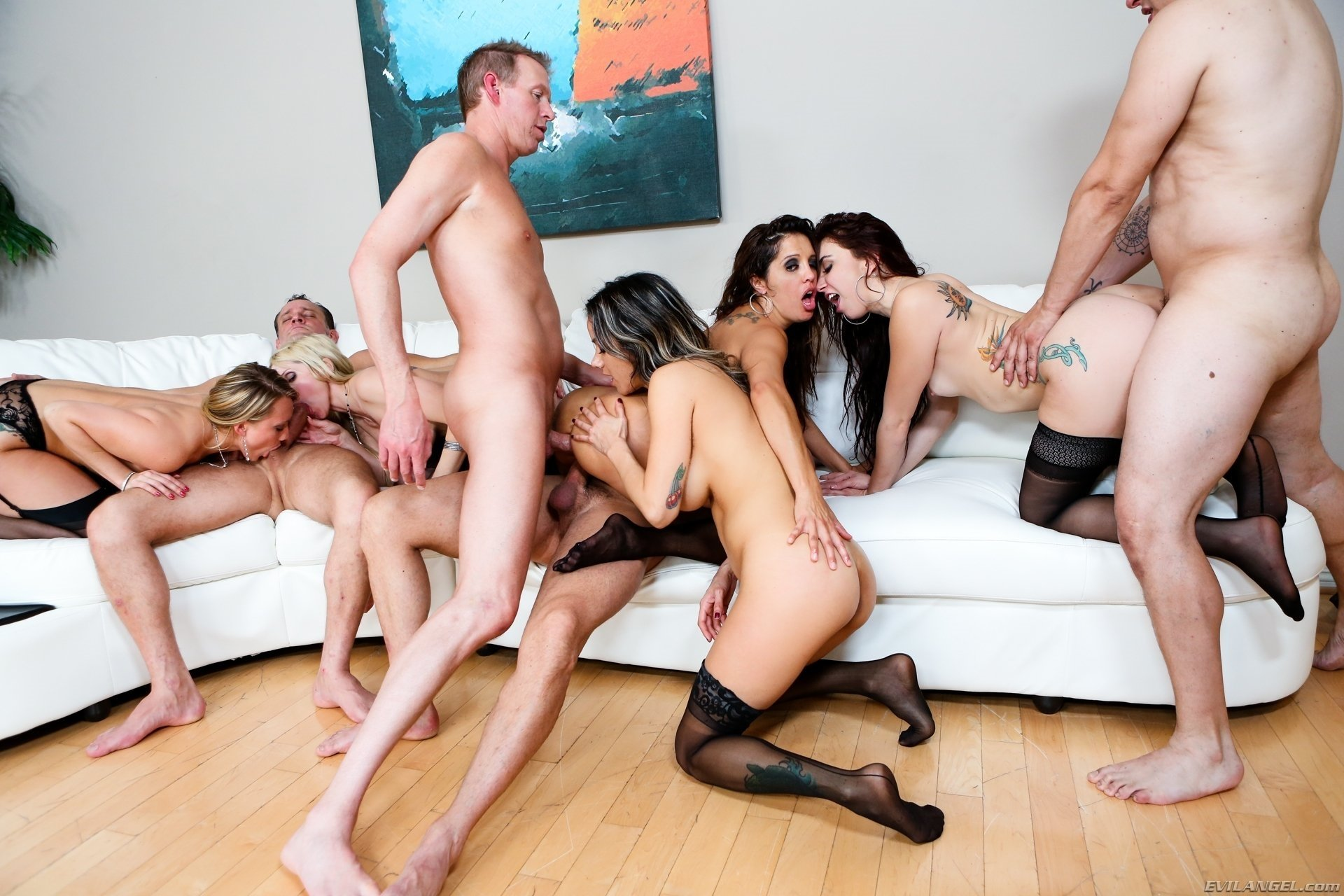 Girls fucks style in category orgy sex vid