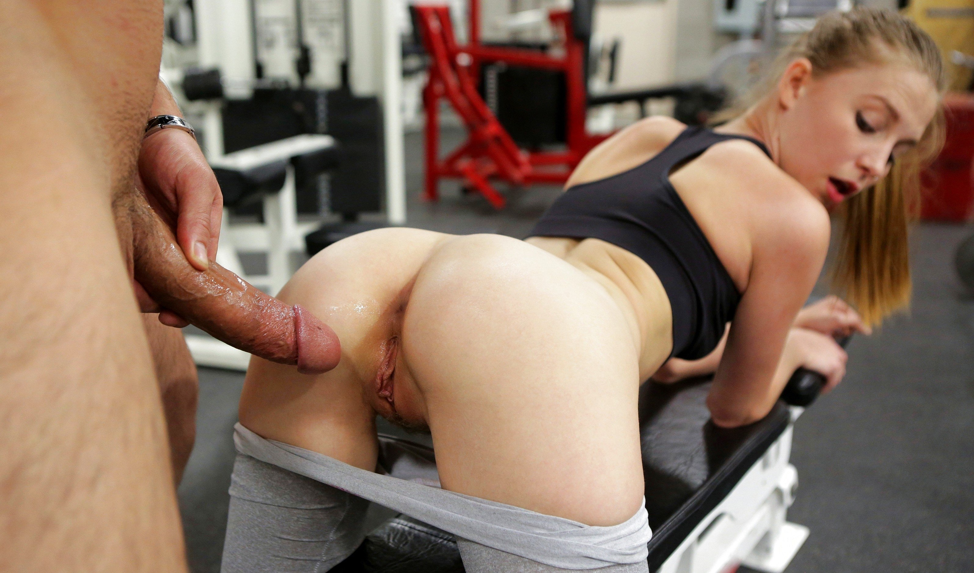 Free Hd Fit Teen Fucks Her Personal Trainer After The Gym Porn Photo