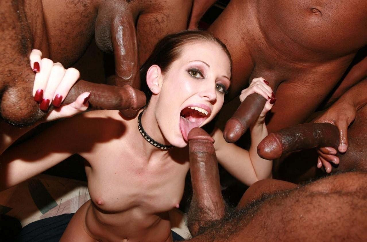 Sexy girl with big black butt getting banged by stud with big black cock