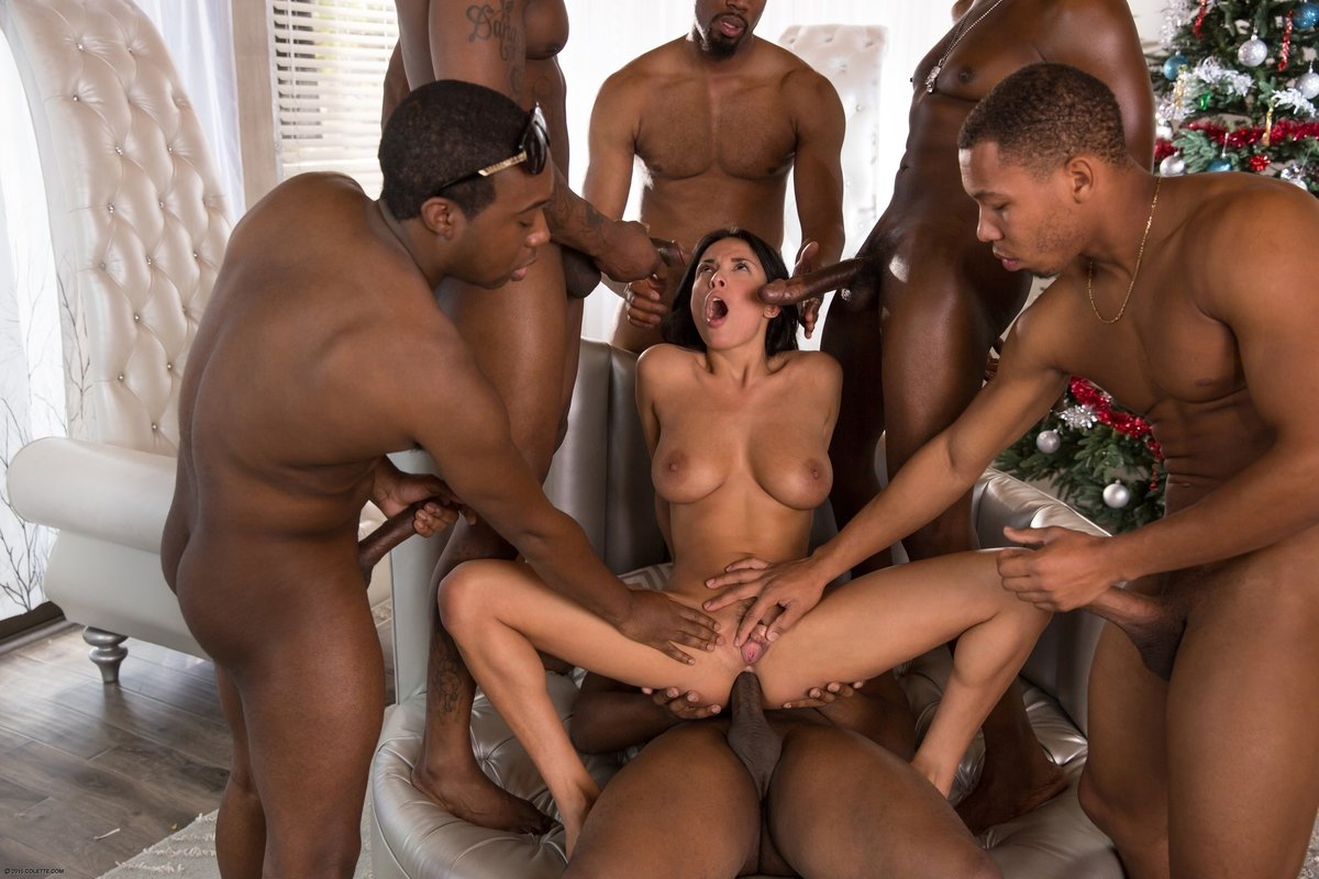 Extreme Rough Gangbang Black
