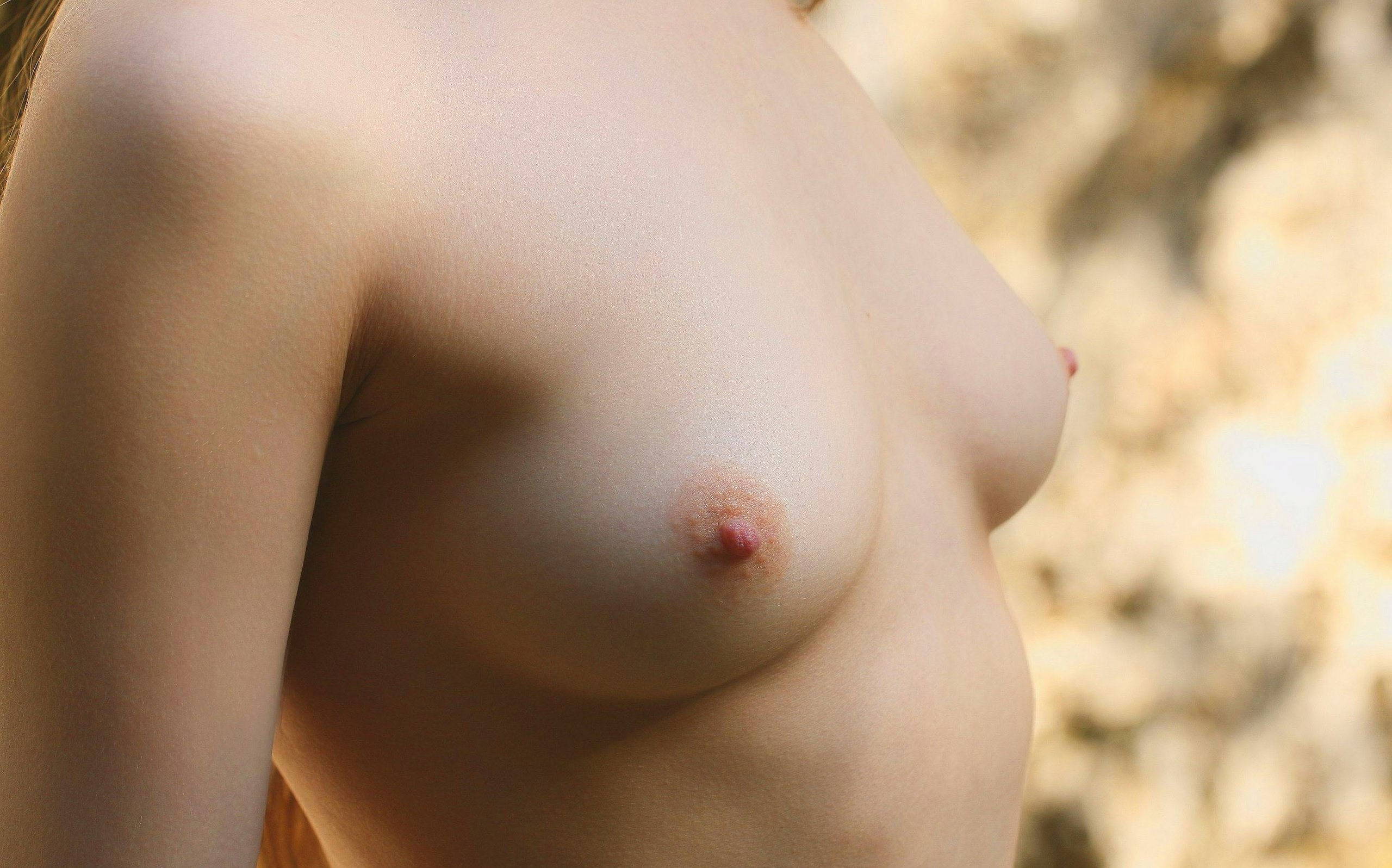 Naked girls with small breasts